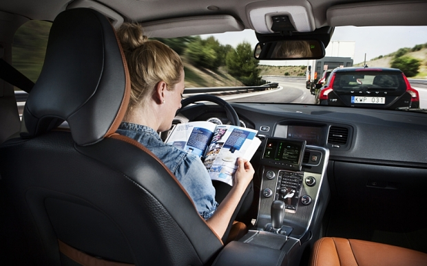 Volvo Car Group initiates pilot project with self-driving cars   ... ...volvo c.jpg...autonomous self driving ....